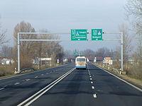 Kecskemét Pesti-dűlő 5-ös főút 2012-12-20.JPG