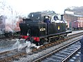 Keighley station - KWVR - geograph.org.uk - 794555.jpg