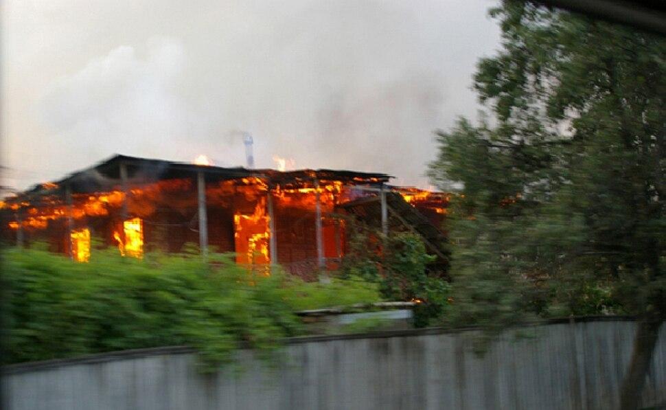 Kekhvi on fire