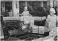 Kellogg Company. Women inspecting filled boxes of cereal before boxes go to sealer. - NARA - 522864.tif