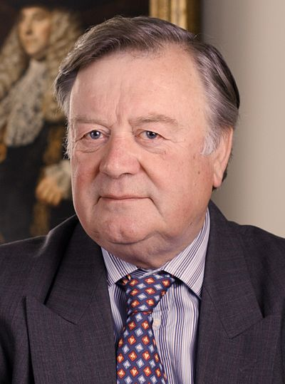 Kenneth Clarke, British politician and Father of the House of Commons