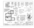 Kensey Johns Sr. House, 2 East Third Street, New Castle, New Castle County, DE HABS DEL,2-NEWCA,5- (sheet 1 of 12).png