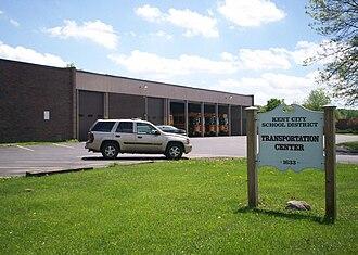 Kent City School District - Image: Kent Schools Transportation Center