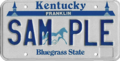 Kentucky sample license plate, 1988-1997.png
