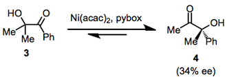 Alpha-ketol rearrangement - Image: Ketol enant
