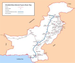 <i>Khushhal Khan Khattak Express</i>
