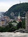 Kilátás a várból a Gellért-hegyre - panoramio.jpg