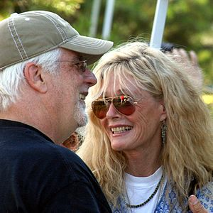 Kim Carnes - Kim Carnes with Michael McDonald in 2008