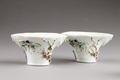 Kinesiska porslins skålar för vinoffer, 1700-tal - Hallwylska museet - 95811.tif