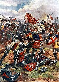King Henry V at the Battle of Agincourt