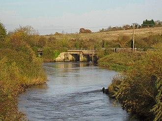 King's Sedgemoor Drain - King's Sedgemoor Drain near Dunball