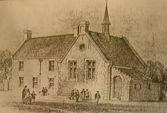 Scottish education in the eighteenth century - The old school at Kingsford, East Ayrshire