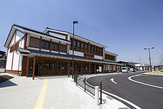 Kinomoto Station Railway station in Nagahama, Shiga Prefecture, Japan
