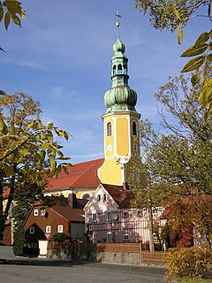 Hochkirch Place in Saxony, Germany