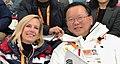Kirstjen Nielsen and Kim Boo-kyum at 2018 Paralympic Games.jpg