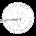 Kleines Landessiegel des Landesteils Vorpommern Landkreis Vorpommern-Rügen 1.png