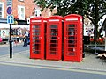 Knaresborough - Market Place, telephone kiosks - geograph.org.uk - 520592.jpg