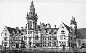Knox College, Toronto - Historical home of Knox College at 1 Spadina Crescent