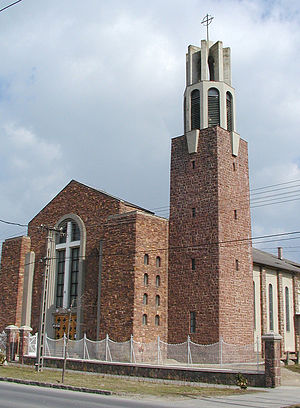 Bertalan Árkay - Roman Catholic Parish Church, Balatonlelle, 1943