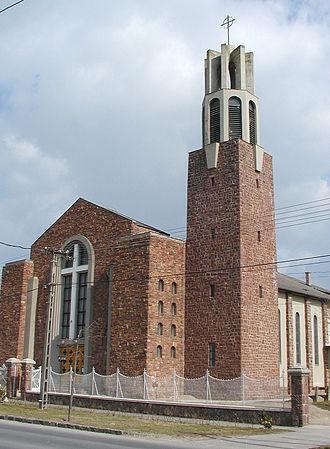 Bertalan Árkay - Roman Catholic Parish Church, Balatonlelle, 1943