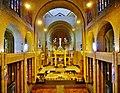 Koekelberg Basilique Nationale Sacré-Coeur Innen Langhaus Ost 2.jpg