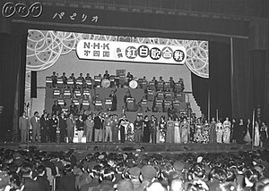 Kōhaku Uta Gassen - The competitors of the 4th Kōhaku Uta Gassen (1953)