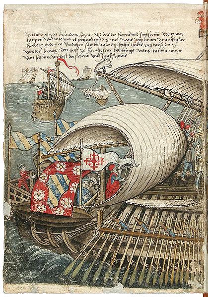 File:Konrad von Grünenberg - Beschreibung der Reise von Konstanz nach Jerusalem - Blatt 5v - 016.jpg