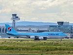 Korean Air, HL-7630, Boeing 747-8 - FRA (21152909511).jpg