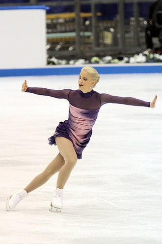 Crossover (figure skating) - Image: Korpi 2010 NHK FS