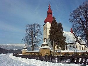 Liptovské Matiašovce - Image: Kostol Liptovske Matiasovce