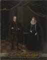 Kristian I, 1560-1591, kurfurste av Sachsen, Sofia, 1568-1622, prinsessa av Brandenburg - Nationalmuseum - 15273.tif