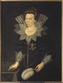 Kristina, 1573-1625, drottning av Sverige prinsessa av Holstein-Gottorp - Nationalmuseum - 15095.tif