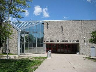 L'Amoreaux - L'Amoreaux Collegiate Institute is a public secondary schools located in the neighbourhood.
