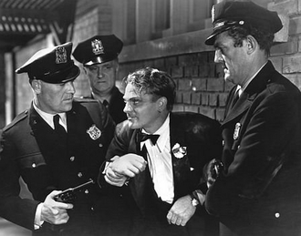 Gangster film - James Cagney in Angels with Dirty Faces (1938)