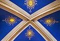 Léguevin - L'église Saint-Jean-Baptiste plafond du transept.jpg
