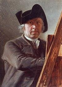Léonard Defrance, Autoportrait au chevalet (1791), Grand Curtius, Liège2.jpg