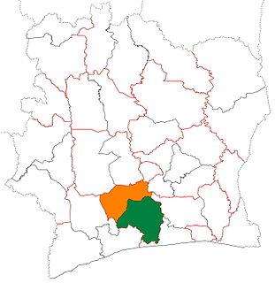 Lôh-Djiboua Region in Gôh-Djiboua, Ivory Coast