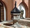 Lüneburg St. Michaeliskirche Taufbecken@20160422.JPG