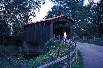 Turbett Township, Juniata County, Pennsylvania - Lehman's, Port Royal Covered Bridge