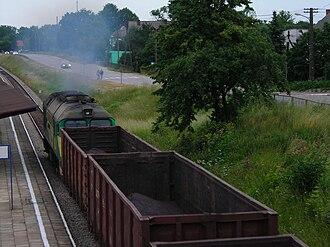 Hrubieszów–Sławków Południowy LHS railway - ST44 on the Broad Gauge Metallurgy Line in Sędziszów.