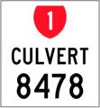 LRMS sign SH1 Culvert 8478.png