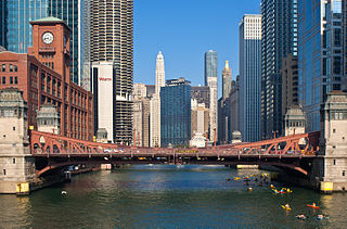 La Salle Street Bridge (Chicago, Illinois) bridge in United States of America