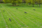 La Cambe, view over the german military cemetery, Calvados, France.jpg