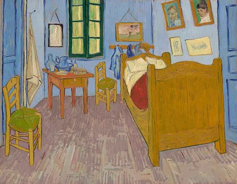 ゴッホ「アルルの寝室」(Wikipediaより引用)