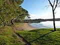 La plage du traon a plougoumelen - panoramio.jpg