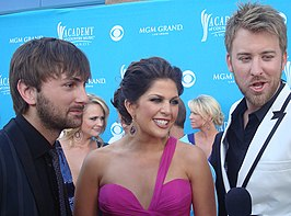 Lady Antebellum in 2010