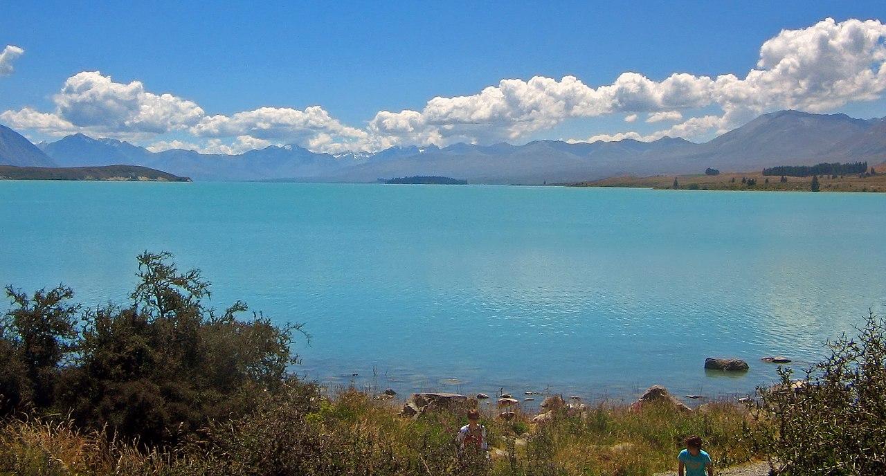 Lake Tekapo. Photo from Wikimedia Commons.
