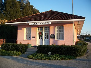 National Register of Historic Places listings in Polk County, Florida - Image: Lake Wales ACL depot 01