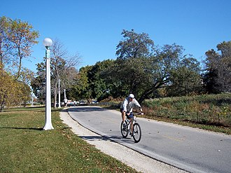 Chicago Lakefront Trail - Image: Lake front bike trail