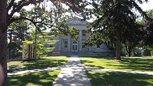 Ripon College (Wisconsin) - Lane Library.